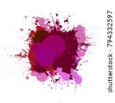 banner blot presentation ... | Shutterstock .eps vector #794332597