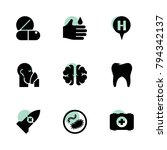 medical icons. vector...