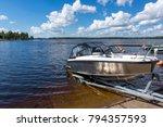 Boat Launch Lake Water - Fine Art prints