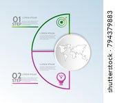 modern vector illustration 3d.... | Shutterstock .eps vector #794379883