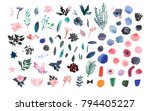 collection of hand drawn...   Shutterstock . vector #794405227