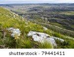 road through tarkine wilderness ...
