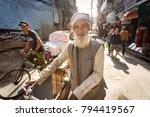 kathmandu  nepal   november 10  ... | Shutterstock . vector #794419567