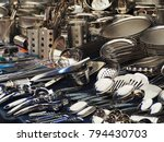 various types of stainless... | Shutterstock . vector #794430703