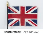 union jack flag of the united... | Shutterstock . vector #794434267