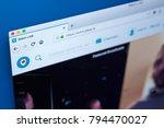 london  uk   january 15th 2018  ... | Shutterstock . vector #794470027