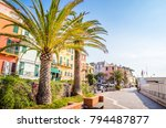 narrow streets and traditional... | Shutterstock . vector #794487877