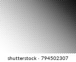 halftone background. grunge... | Shutterstock .eps vector #794502307
