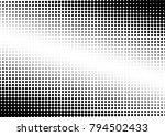 halftone background. vintage... | Shutterstock .eps vector #794502433