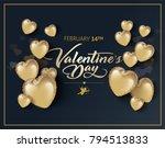 valentines day vector... | Shutterstock .eps vector #794513833