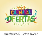 popular event in brazil.... | Shutterstock .eps vector #794546797