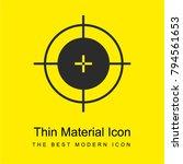 calibration mark bright yellow
