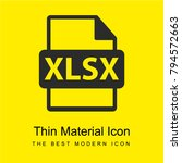 xlsx file format extension...