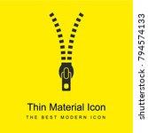 Zipper Tool Bright Yellow...