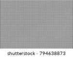 black and white dotted halftone ... | Shutterstock .eps vector #794638873