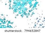 light blue vector texture with...   Shutterstock .eps vector #794652847