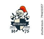 middle ages logo  original... | Shutterstock .eps vector #794653357