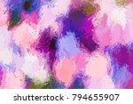 modern abstract texture  art... | Shutterstock . vector #794655907