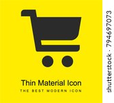 shop cart bright yellow...