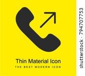 phone bright yellow material...