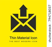 email bright yellow material...