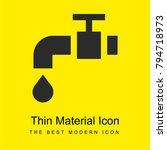 water tap bright yellow...   Shutterstock .eps vector #794718973
