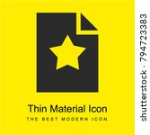 favorite bright yellow material ...