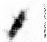 halftone black and white | Shutterstock .eps vector #794726677