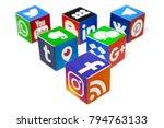 kazan  russia   december 20 ... | Shutterstock . vector #794763133