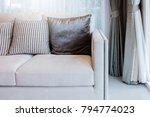contemporary interior of living ... | Shutterstock . vector #794774023