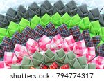 beautifully mat made from... | Shutterstock . vector #794774317