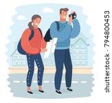vector cartoon illustration...   Shutterstock .eps vector #794800453