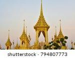 the royal crematorium in...   Shutterstock . vector #794807773