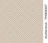 abstract modern stroke textured ... | Shutterstock .eps vector #794808307
