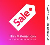 sale commercial label red and...