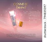 vector 3d cosmetic illustration ... | Shutterstock .eps vector #794835397