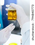 laboratory of food quality... | Shutterstock . vector #794840773
