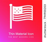usa flag red and pink gradient... | Shutterstock .eps vector #794900203