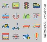 icons set about transportation. ... | Shutterstock .eps vector #794904463