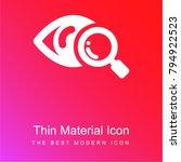 eye scanner medical symbol red... | Shutterstock .eps vector #794922523