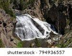 Gibbon Falls  Yellowstone...