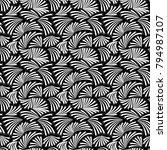 geometric template vector.... | Shutterstock .eps vector #794987107