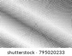 black and white dotted... | Shutterstock .eps vector #795020233