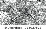 urban vector city map of... | Shutterstock .eps vector #795027523