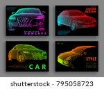 art image of a auto. vector car ...   Shutterstock .eps vector #795058723