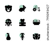 cute icons. vector collection...