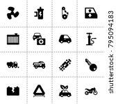 car icons. vector collection...