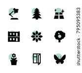 decorative icons. vector...