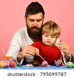 Father And Son Preparing For...