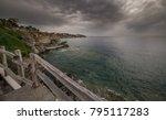Rocky Coast Of The Greek Coast...